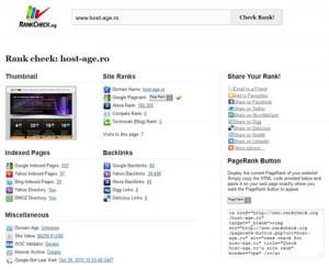 exemplu rank cheek pentru un site