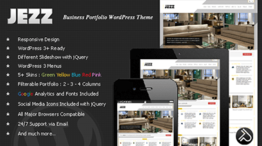jezz - tema de wordpress