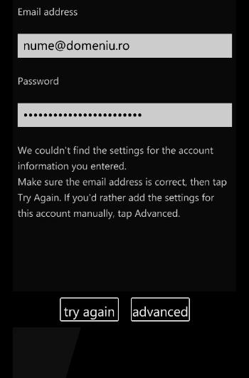 inregistrarea adresa de e-mail telefon cu windows